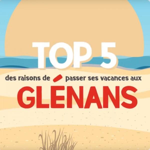 Top 5 des raisons de venir aux Glénans