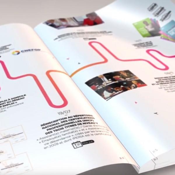 IPERIA : rapport d'activité digital